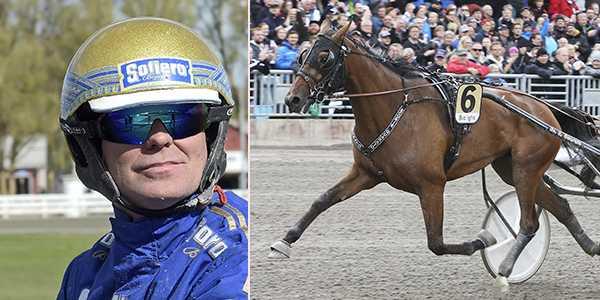 Björn Goop med Billie de Montfort spikas på V75 från Gävle.