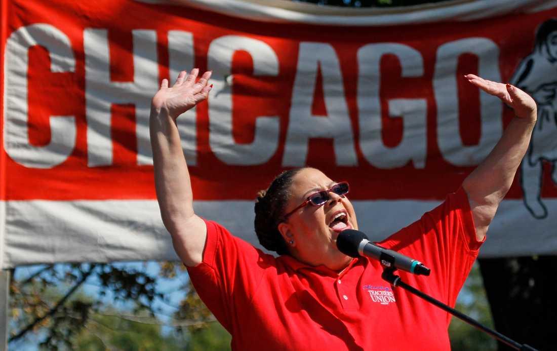 Nu avlidna lärarfackordföranden Karen Lewis vidgade möjligheterna radikalt för amerikanska välfärdsarbetare.