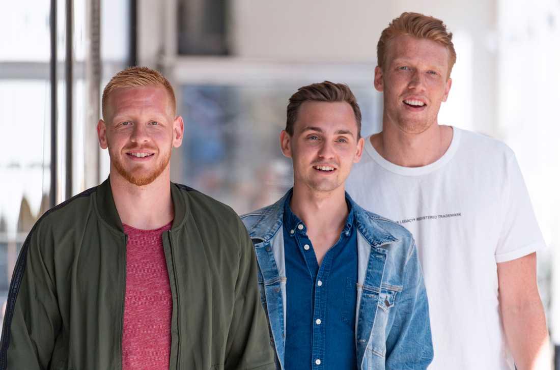 Tre nyblivna tyska mästare med Flensburg-Handewitt – Jim Gottfridsson, Hampus Wanne och Simon Jeppsson – anlände på tisdagen till Malmö för att ladda inför handbollslandslagets första VM-playoffmatch mot Nederländerna.