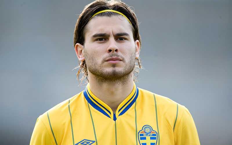 Ajdarevic i svenska U21-landslaget 2012.