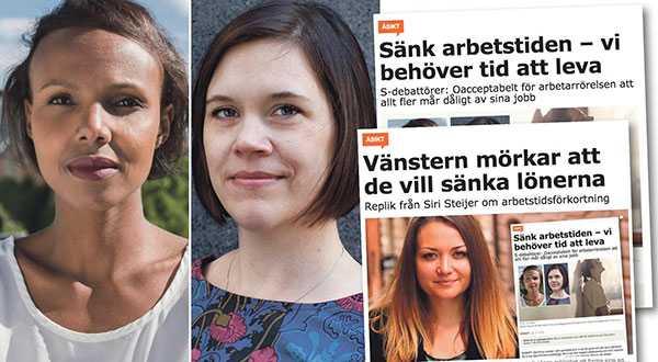 Sanningen är att den höger som Timbro och Siri Steijer representerar i alla år kämpat emot de förbättringar som arbetarrörelsen drivit på för, skriver Nasra Ali och Lina Stenberg.