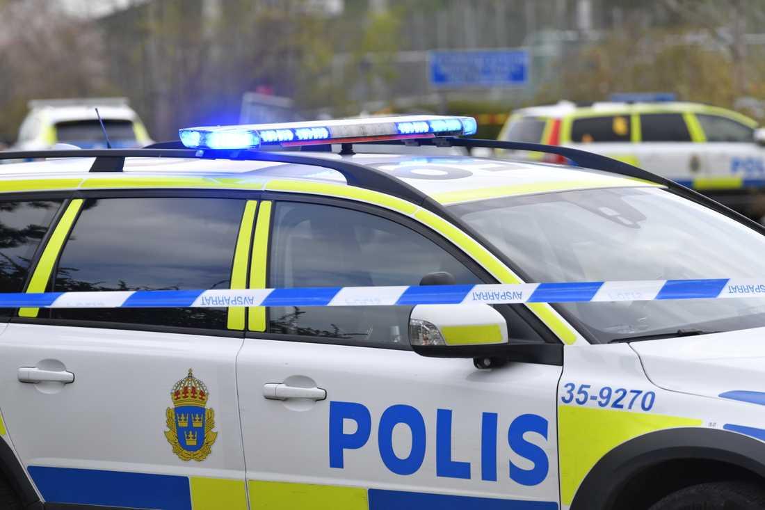 Polismyndigheten begär höjda anslag för att nå målet om 38000 polisanställda 2024. Arkivbild.