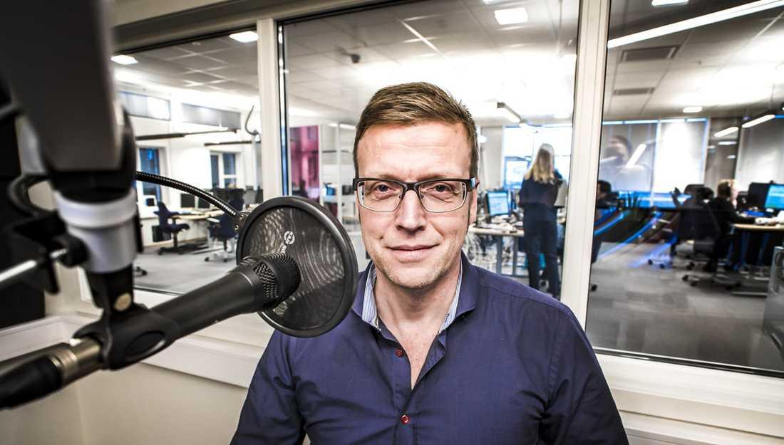 Tv-journalisten Morten Ruud.