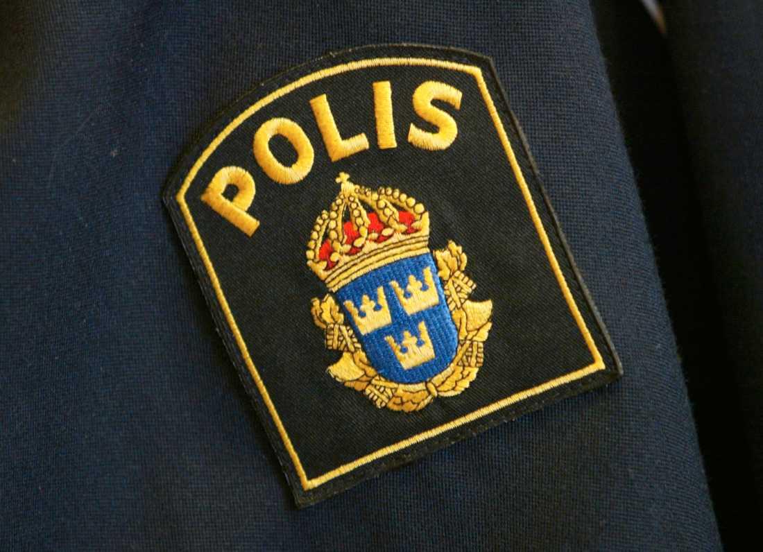 """Polisen utreder nu om föraren av den """"skenande"""" lastbilen på E20 gjort sig skyldig till brott. Arkivbild."""