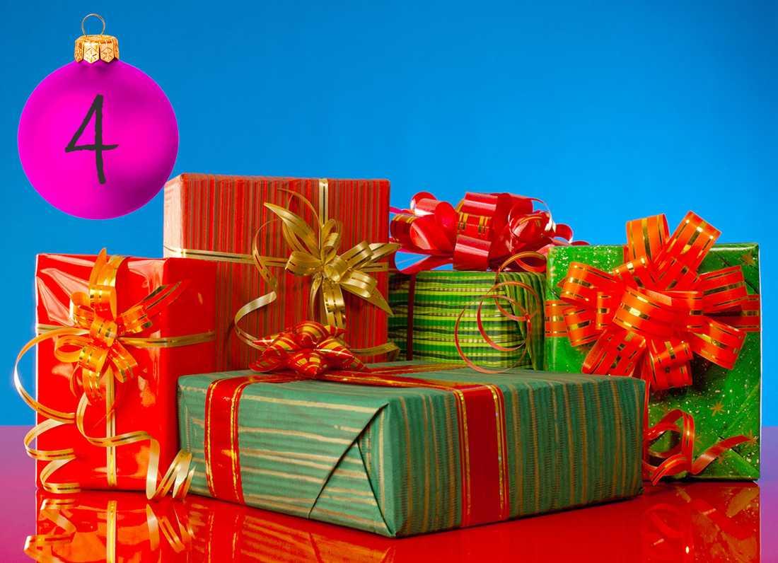 Johans tips: Båda köper julklappar... Börjat fundera på julklappar ännu? Dela upp ansvaret. Vi brukar göra så att jag köper åt det ena barnet, så köper min fru åt det  andra. I år har jag dotterns klapp. Det är bra, för då måste jag ta del av hennes drömmar.
