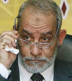 Muhammad Badi, ledare för brödraskapet.