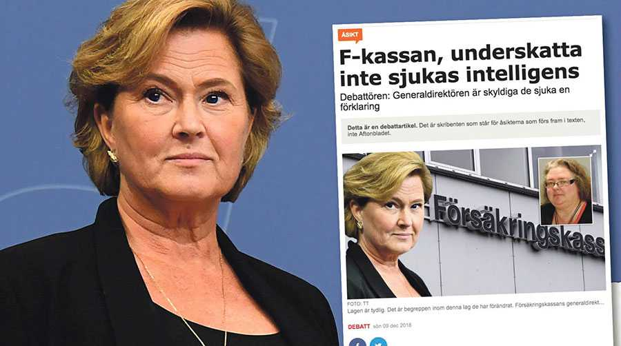 Vi har ingen laglig rätt att ta hänsyn till hur till den försäkrades livssituation ser ut när vi bedömer rätten till ersättning, skriver Maria Hemström Hemmingsson.