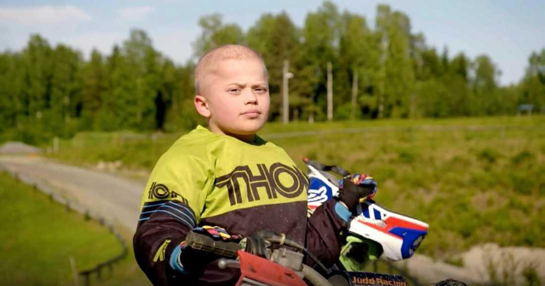 Viggo, 10, kämpar mot skelettcancer.