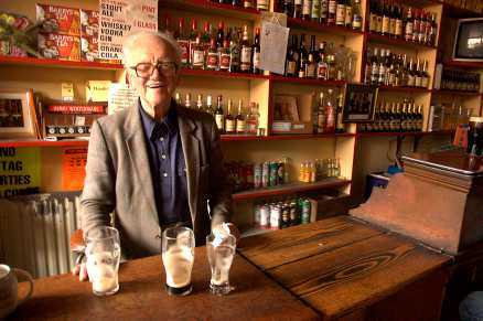Tom Frawley, 86 – äldst på allt.