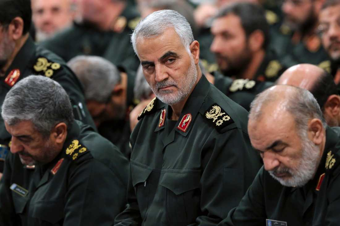 Toppgeneralen Qassem Soleimani.