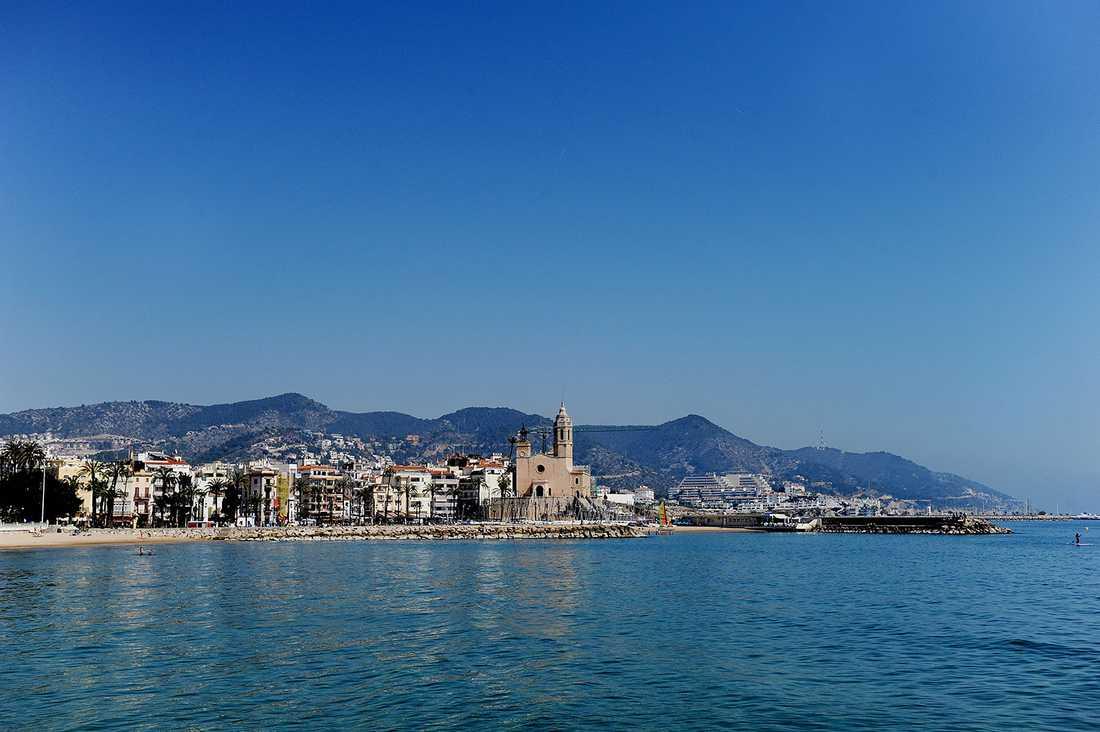 Jonas Falks lyxhus i Sitges utanför Barcelona köptes för 21 miljoner kronor.