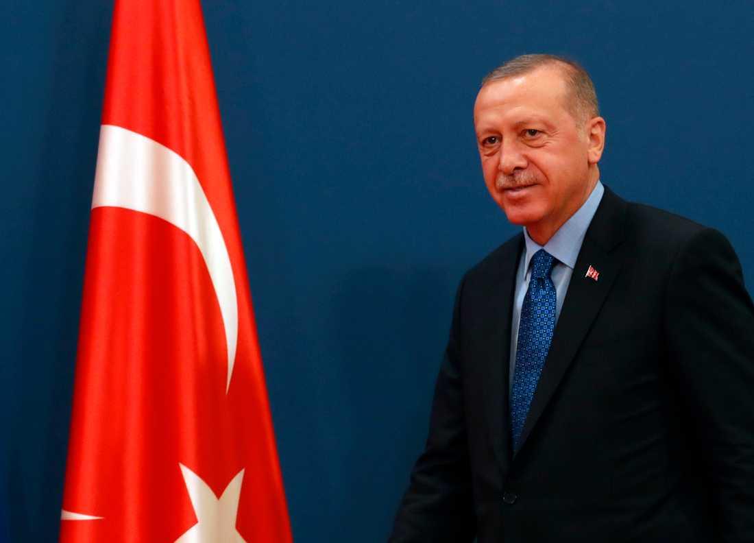 Recep Tayyip Erdogan är Turkiets president.