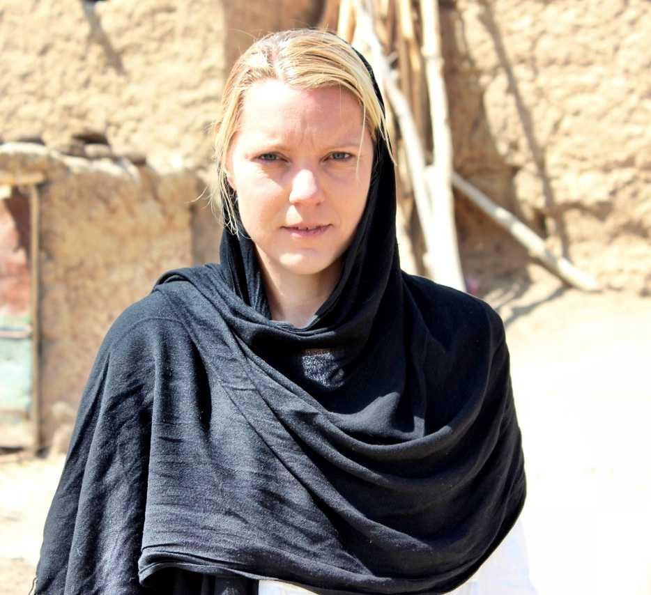 Aftonbladets Carina Bergfeldt på plats i Afghanistan.