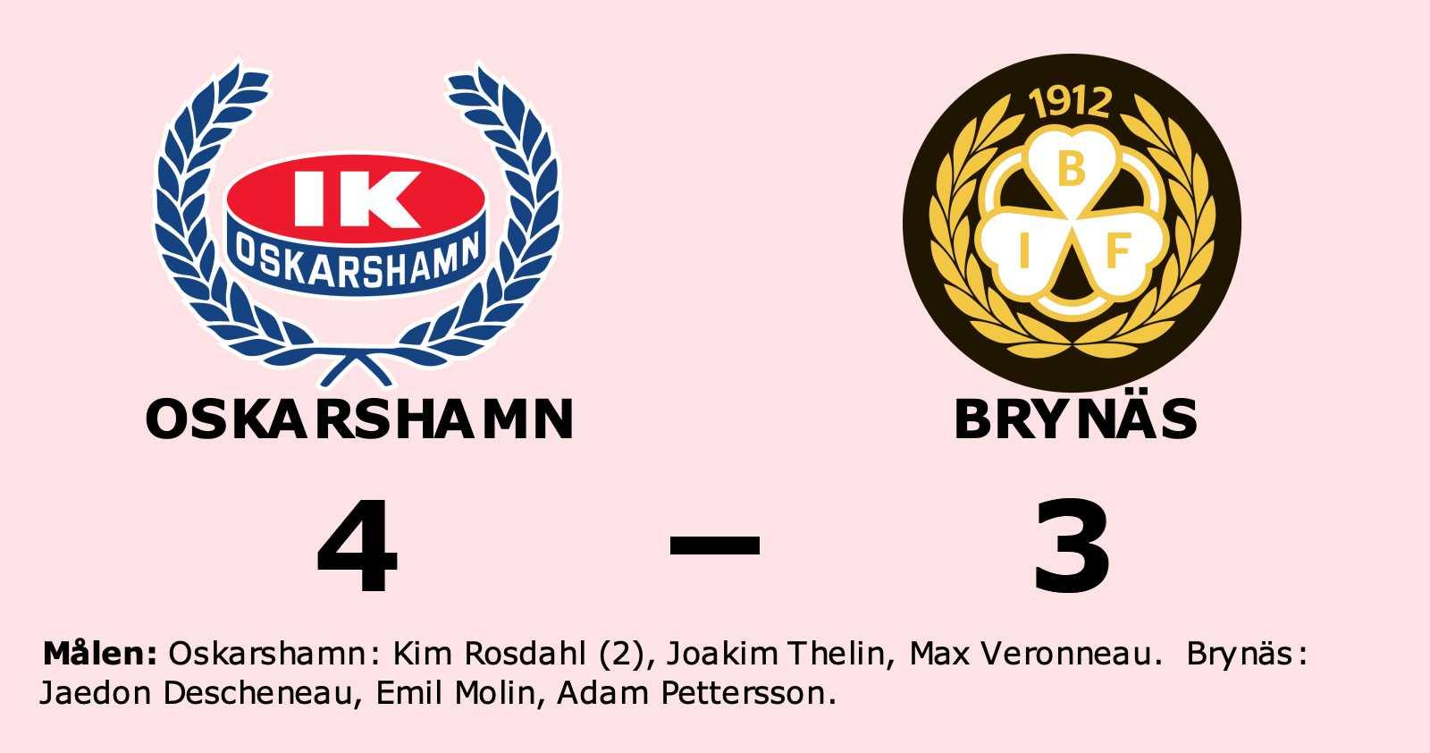 Formstarka Oskarshamn tog ännu en seger