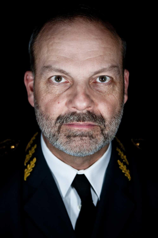 Försvarsmaktens arméchef, generalmajor Anders Brännström.