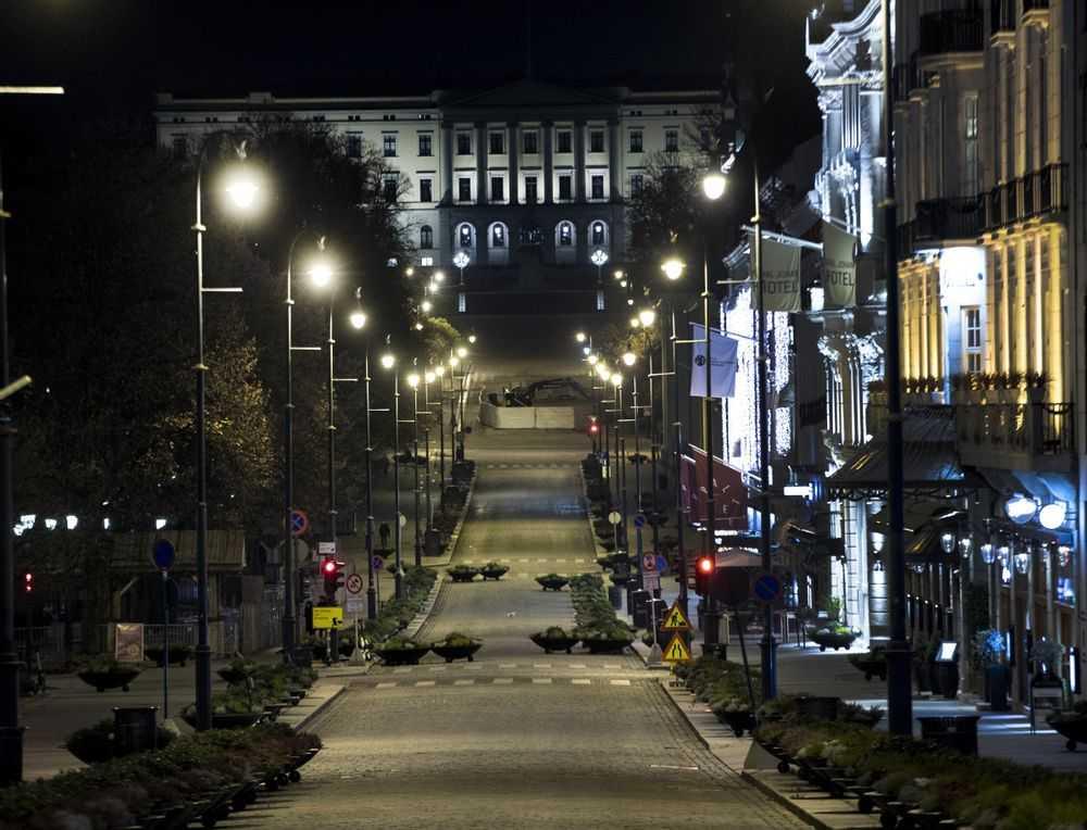 Oslo kan stängas ner.