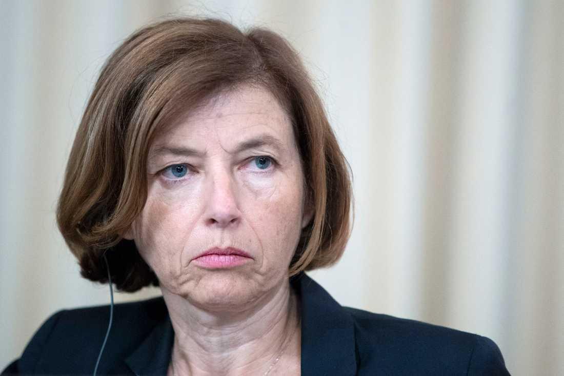 Frankrikes försvarsminister Florence Parly. Arkivbild.