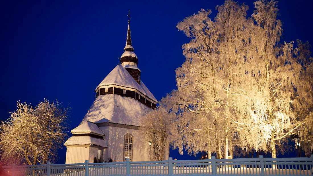 Vemdalens kyrka.