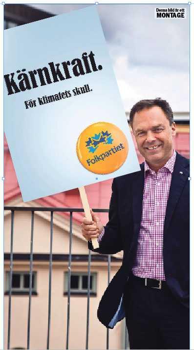 """Folkpartiledaren Jan Björklund hoppade i söndags av en kärnkraftverksdebatt i """"Agenda"""" mot Maria Wetterstrand. Undrar varför."""