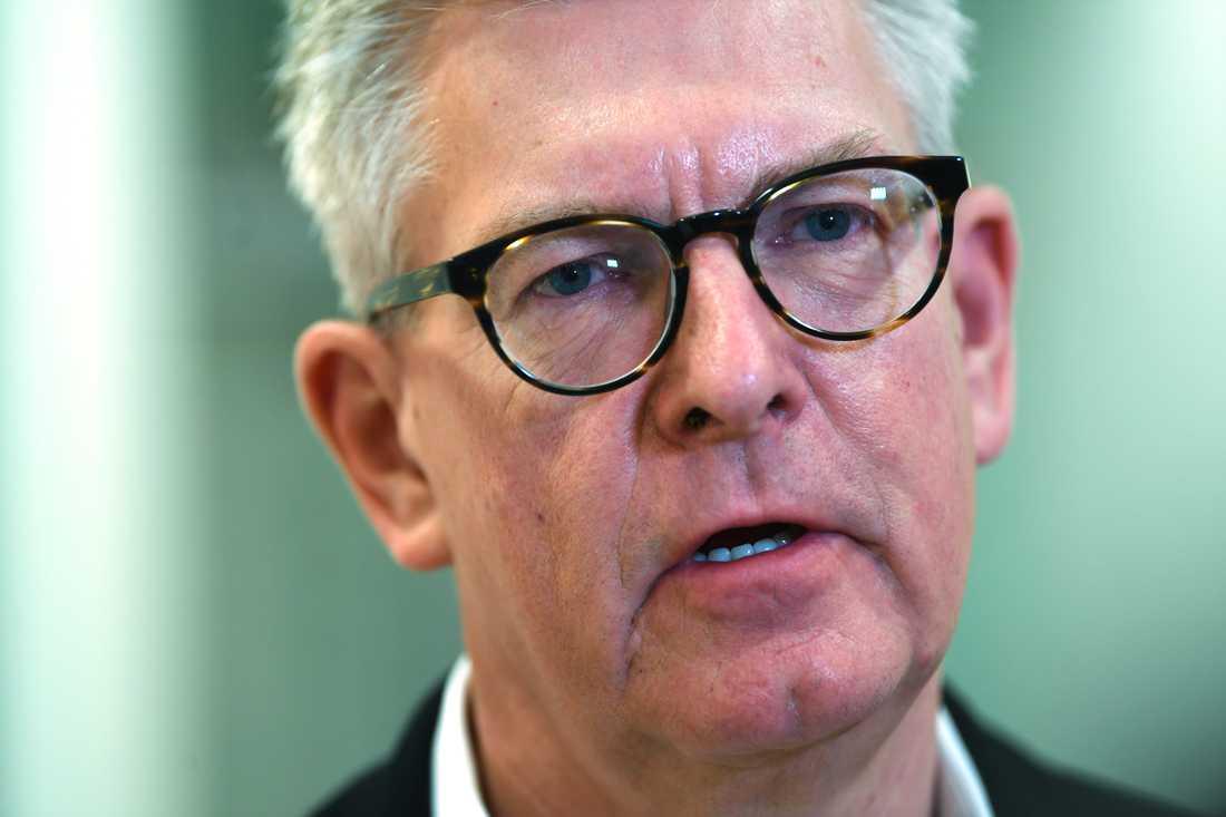 """""""Vi såg ett fjärde kvartal där vi fortsatte leverera på vår fokuserade strategi från 2017"""", säger Börje Ekholm, vd för Ericsson."""
