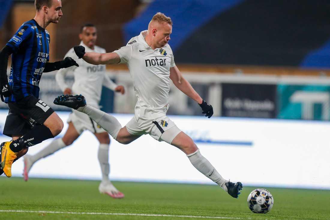 Kolbeinn Sigthorsson i AIK-tröjan. Nu är han klar för IFK Göteborg. Arkivbild.