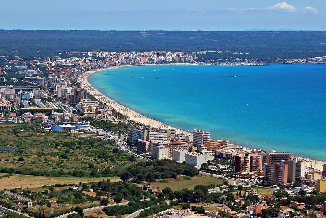 6) Mallorca, Spanien.