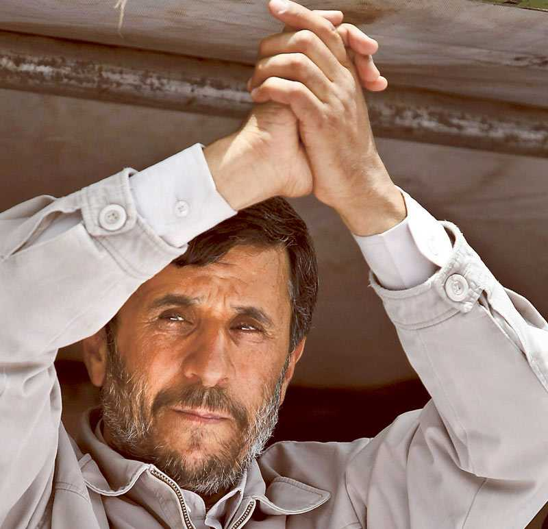 Ahmadinejad.