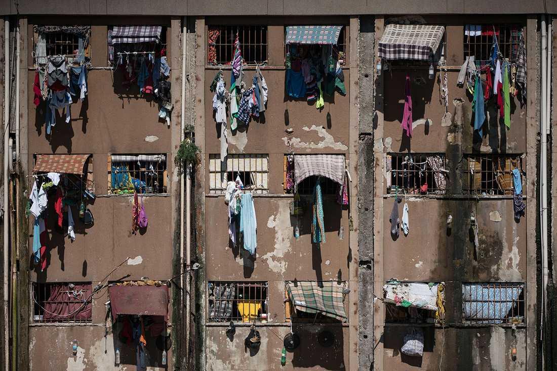 Brasilianska fängelser är ofta katastrofalt överbefolkade.