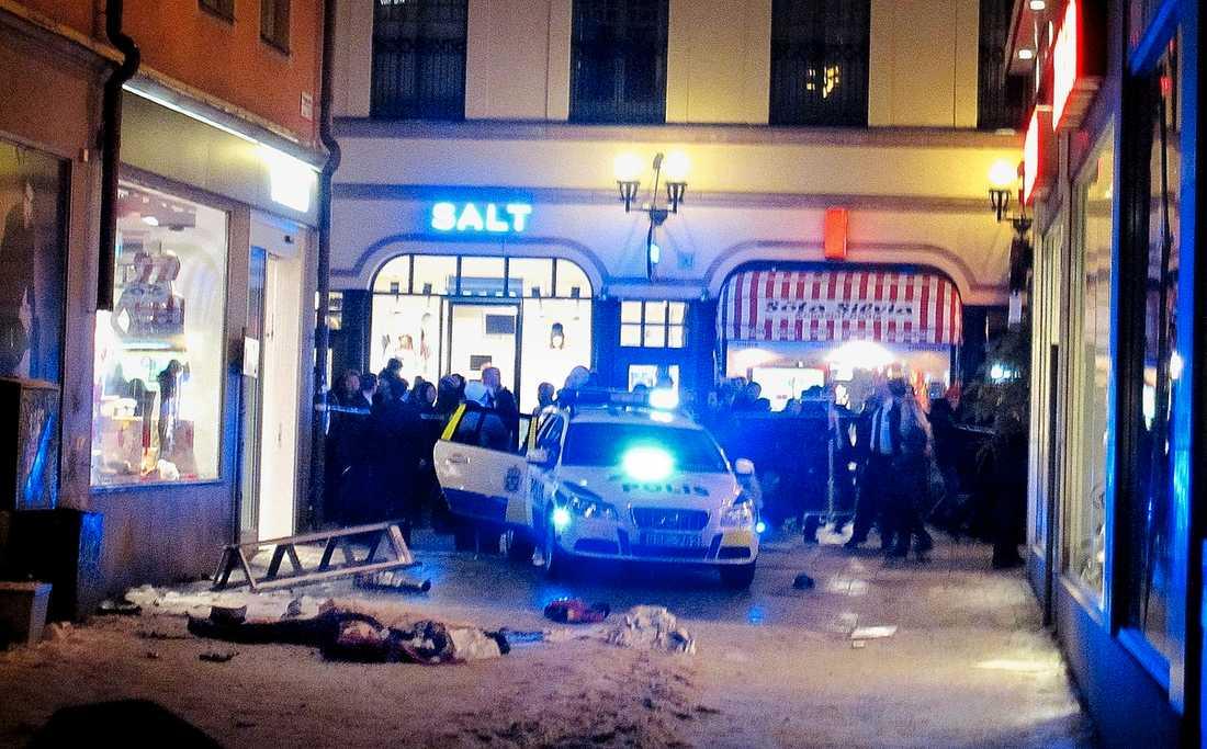 Bombdådet i Stockholm 2010.