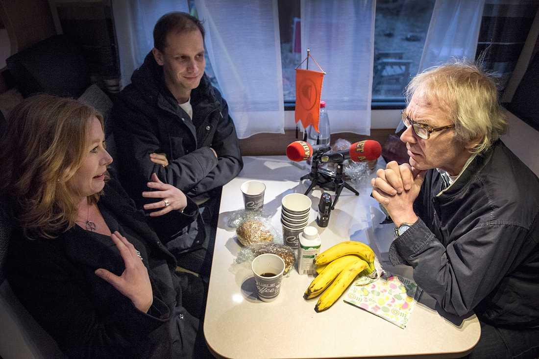 Aftonbladets kulturchef Åsa Linderborg hade ingen aning om vad som väntade när hon åkte till Uppsala.