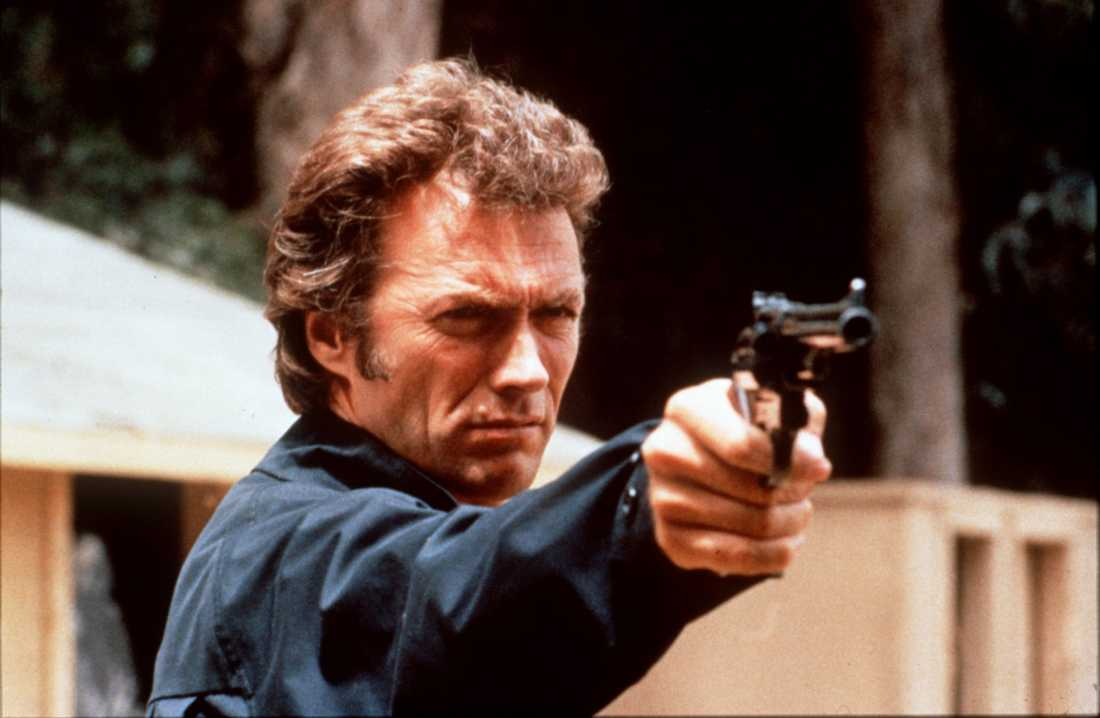 Clintan som Dirty Harry i filmen Magnum Force från 1973.