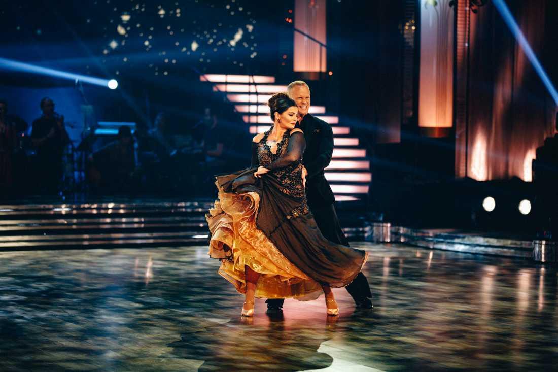 Carola i en tango.
