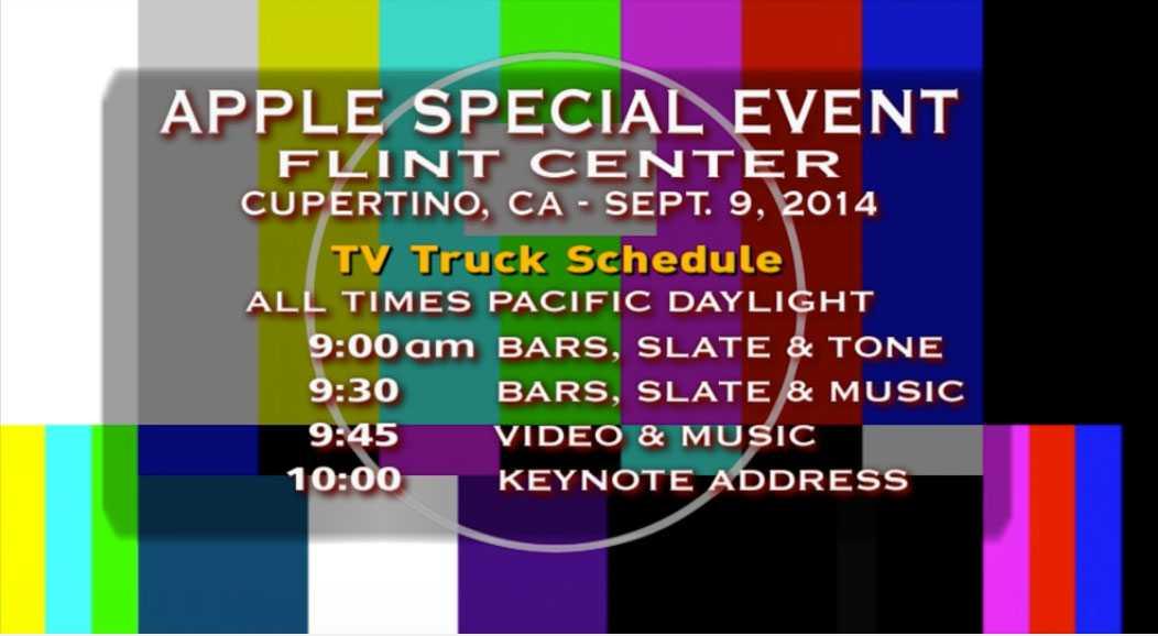 Felmeddelande mötte alla som vill se Apples superlansering i början. Ett tag låg hela deras sajt nere.