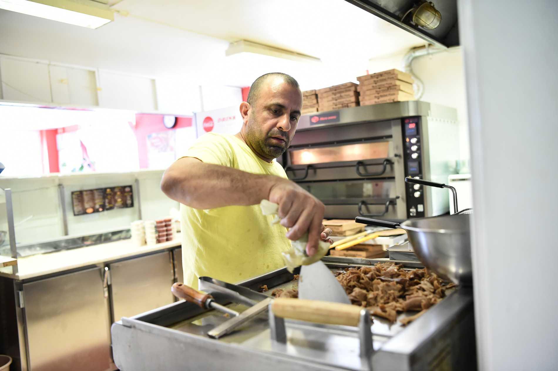 Beshar Tomar bakade pizzorna som fick en central roll i gisslandramat.