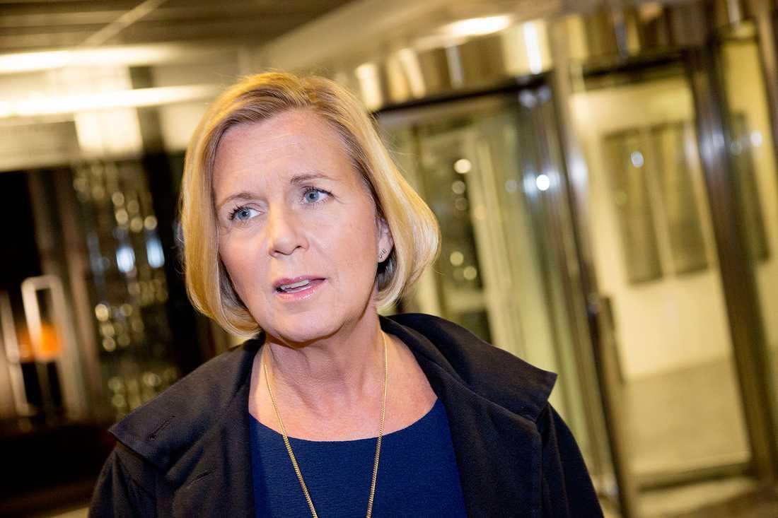 Maria Arnholm, jämställdhetsminister.