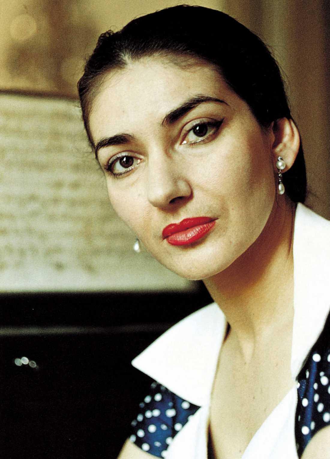 Lika som bär? Noomi och Maria Callas här.