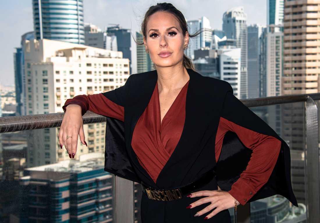 Leila, 35, hade tröttnat på den svenska jantelagen – och flyttade till lyxmetropolen Dubai.