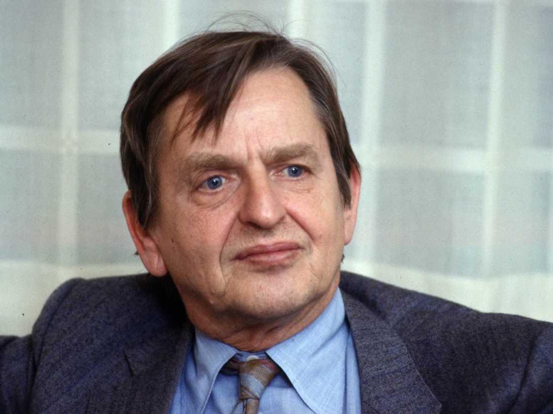 Olof Palme mördades på Sveavägen i Stockholm 1986. Arkivbild.