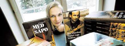 Pressat läge Katja Efron, 24, är förmodligen stans yngsta förlagschef. Efter några tuffa år i branschen börjar det ljusna och i år räknar hon med en omsättning på två miljoner kronor.