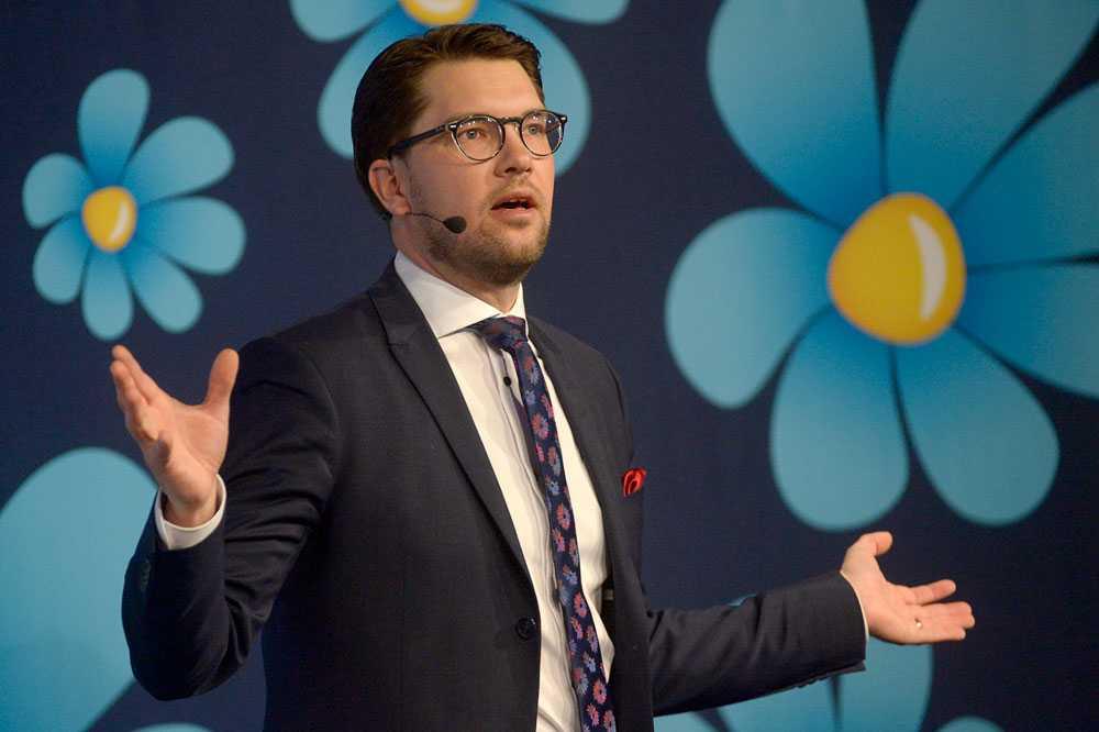 Jimmie Åkesson vill att  SD:s trovärdighet ska öka hos fler och att partiet måste bredda sig.