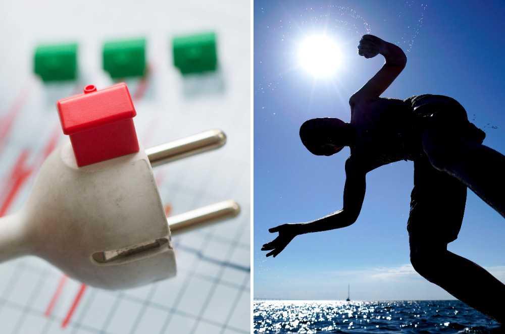 I juni låg elpriset 70 procent högre än samma månad 2017.