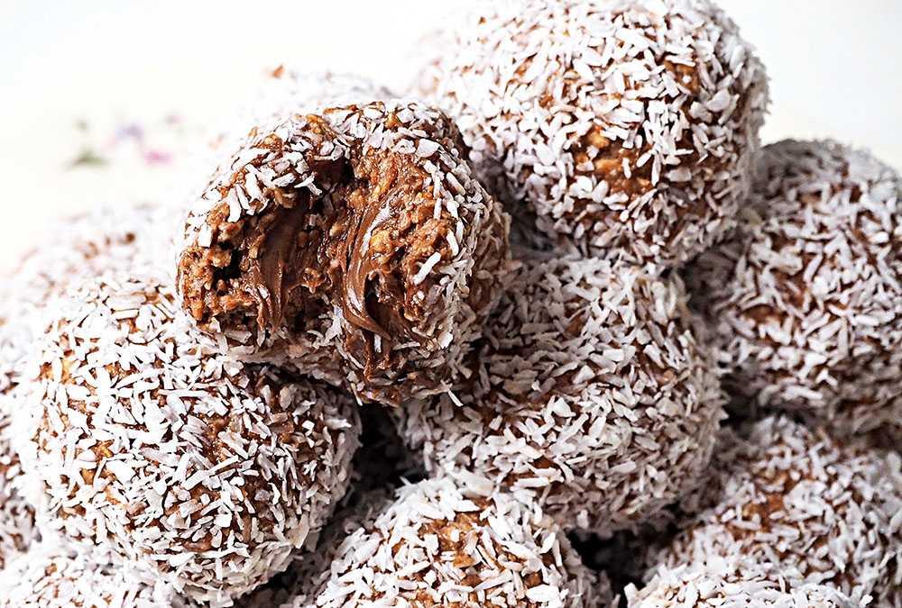 Nutellabollar - recept med krämig gömma