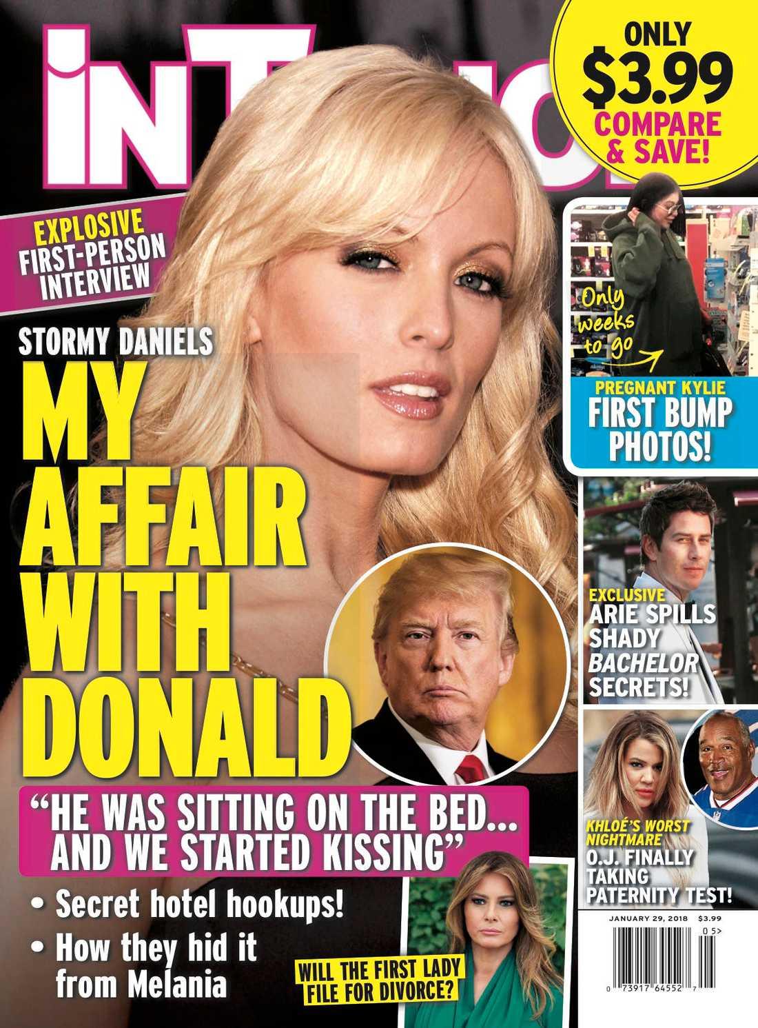 I senaste numret av tidningen inTouch publiceras en gammal intervju med Stormy Daniels från 2011 där hon berättar om mötet med presidenten som ska ha ägt rum 2006.