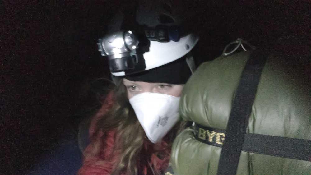 Greenpeace-aktivisten Isadora Wronski har befunnit sig på Ringhals kärnkraftverk i snart 27 timmar.