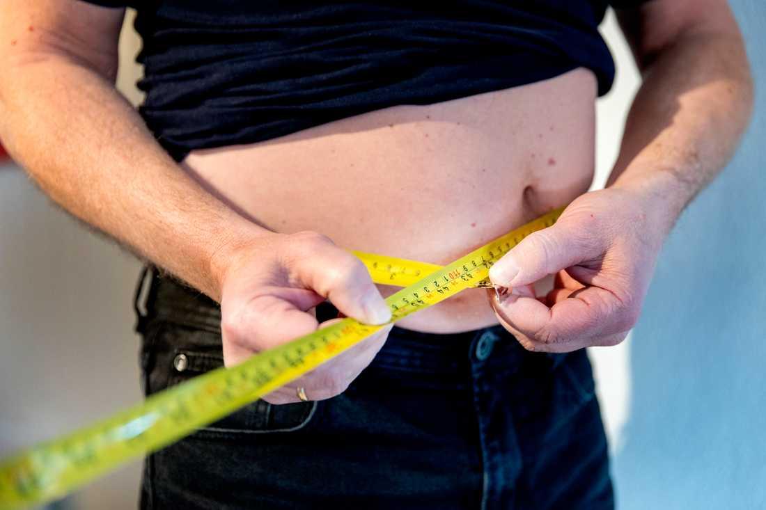 Kvinnor lider mer av andfåddhet i samband med fetma än män, visar ny studie initierad av Hjärt-Lungfonden. Arkivbild.