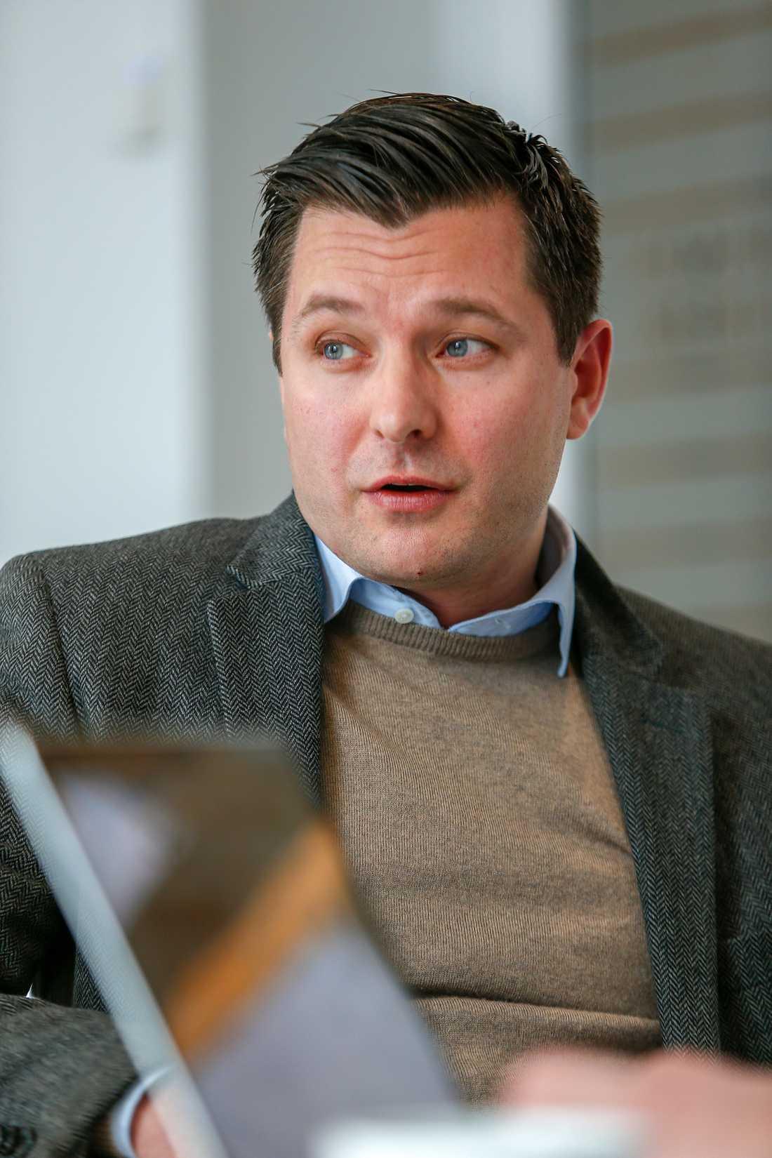 Jesper Arvenberg, juridiskt ombud för Daniel Redén.