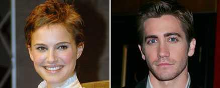 Kysstes Natalie Portman och Jake Gyllenhaal.