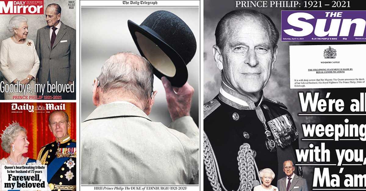 Storbritannien i sorg – så rapporterar brittiska medier