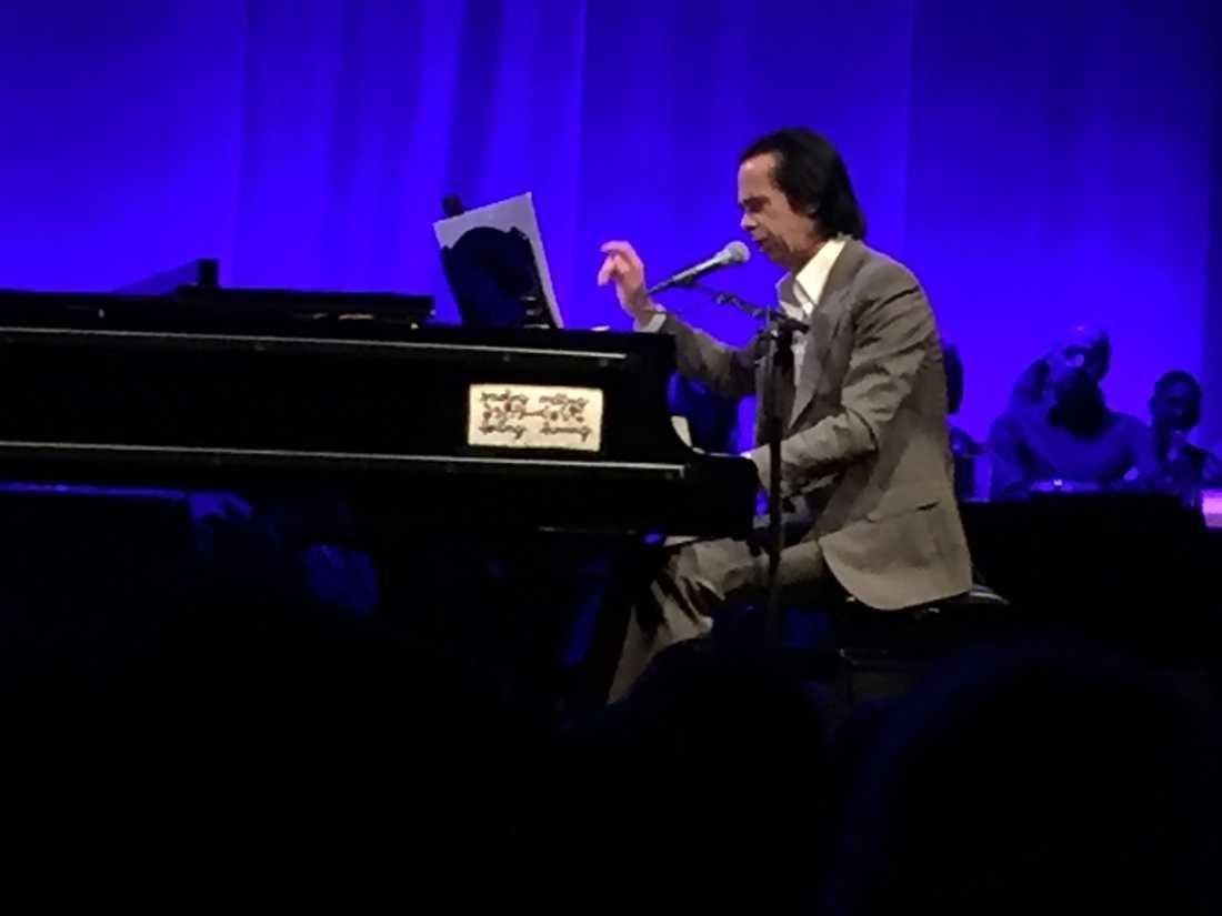"Soloshowen ""Coversation with Nick Cave"" är sympatisk, varm, gripande och rolig."