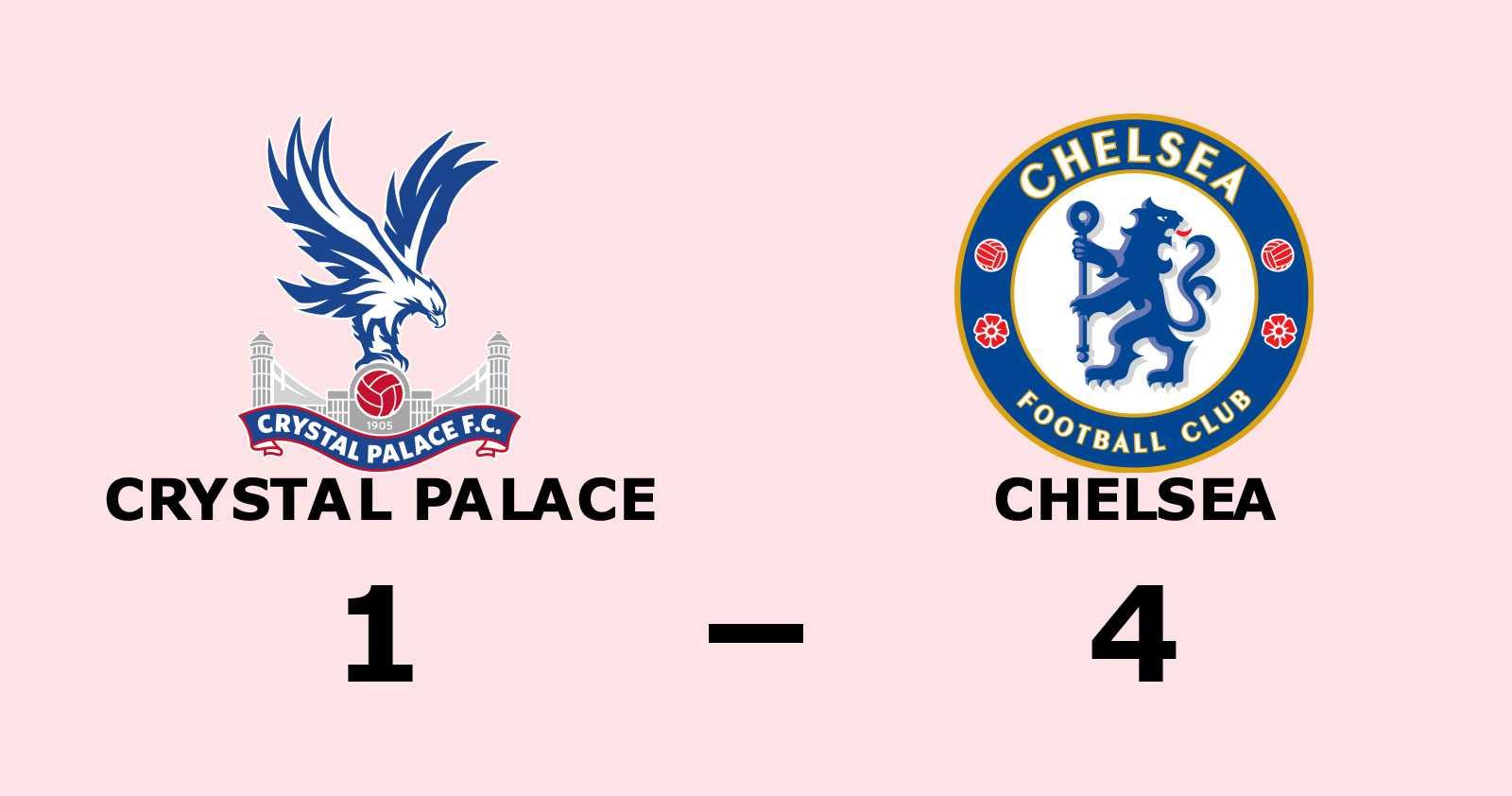 Pulisic i målform när Chelsea vann
